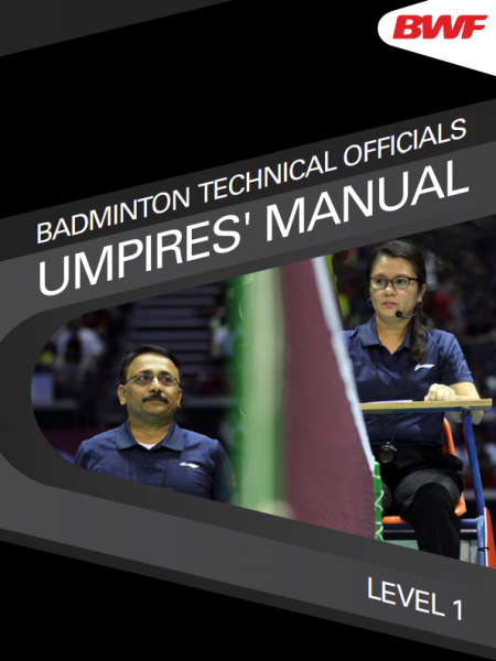 BWF Umpires' Manual Level One