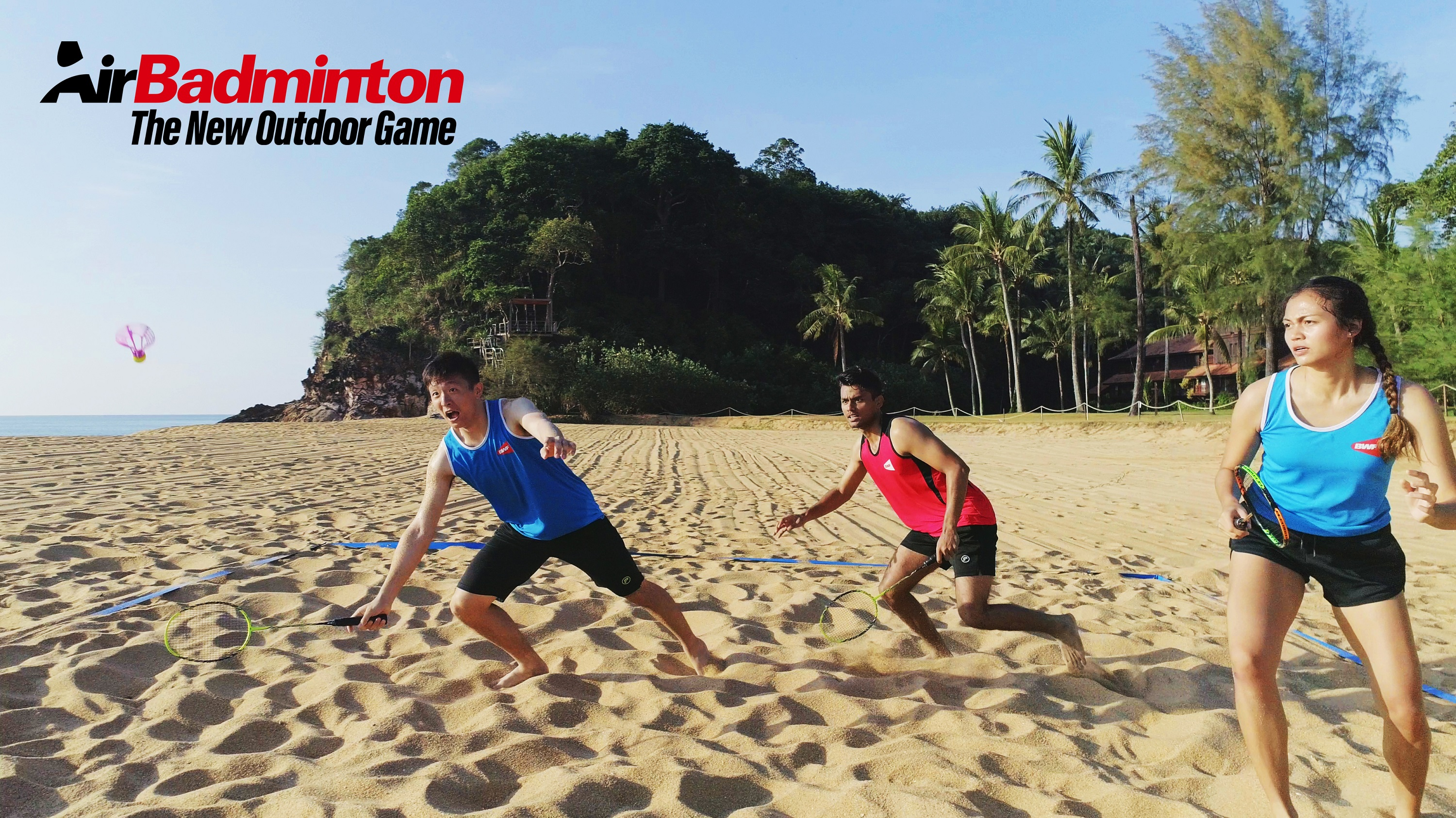 AirBadminton - The New Outdoor Game is here! - Badminton ...