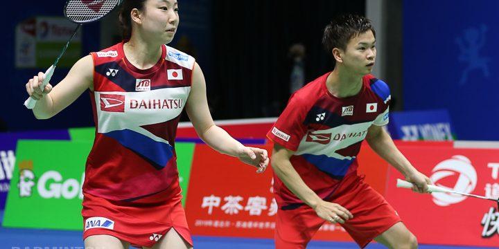 Japan S Watanabe And Higashino Fly Through To The Quarter