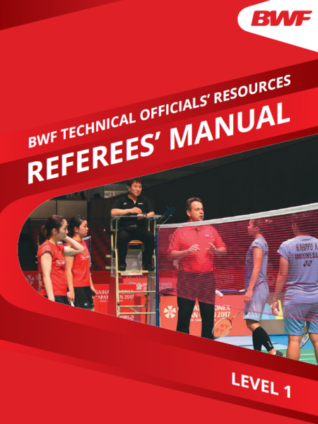 BWF Referees' Manual Level One